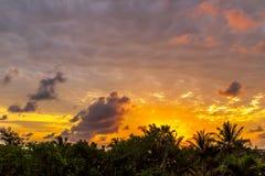 Dawn στην Κούβα Στοκ εικόνα με δικαίωμα ελεύθερης χρήσης
