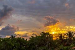 Dawn στην Κούβα Στοκ Φωτογραφία