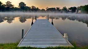 Dawn στο Great Lakes - καθαρό Μίτσιγκαν Στοκ Εικόνες