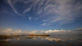 Dawn της παραλίας Sanur, Μπαλί Στοκ φωτογραφίες με δικαίωμα ελεύθερης χρήσης