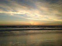 Dawn above Atlantic Ocean. Royalty Free Stock Photo
