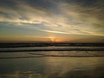 Dawn above Atlantic Ocean. Royalty Free Stock Images
