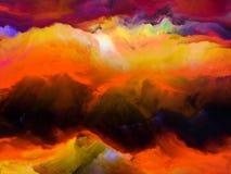 Dawn Above Mountains Image libre de droits