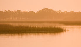 Dawn along the ICW Stock Images