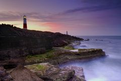 Free Dawn At Portland Bill Stock Images - 4161534