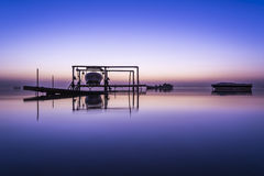 dawn in bahrain Stock Image