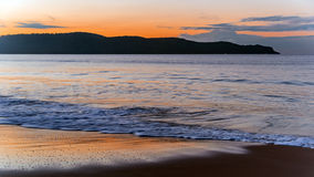 Dawn at the Beach. Taken at Umina Beach, Central Coast, NSW, Australia Royalty Free Stock Images