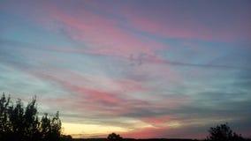 Dawn. Beautiful sunrise at 5 am Royalty Free Stock Image