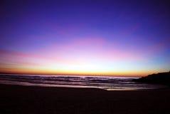 Dawn bij blufferspark royalty-vrije stock foto's