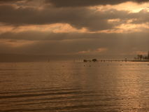 Dawn at Bodensee 2 Royalty Free Stock Images