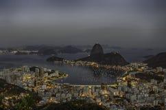 Dawn at Botafogo Bay in Rio de Janeiro Brazil stock photos