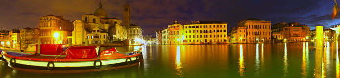 Dawn breaking on the Grand Canal Royalty Free Stock Photos