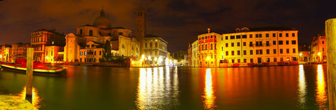 Dawn breaking on the Grand Canal Stock Image