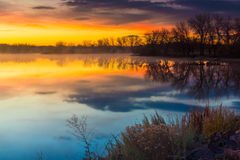 Dawn Breaking Royalty Free Stock Photography