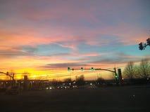 Dawn breaks stock photos