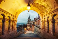 Dawn in Budapest Royalty Free Stock Photos