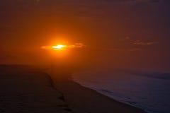 Dawn in Cabo San Lucas. Peaceful morning in Cabo San Lucas stock photography