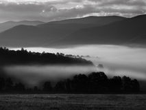 Dawn in Cades Cove Royalty Free Stock Images