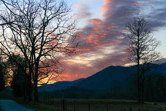 Dawn at Cades Cove Royalty Free Stock Image