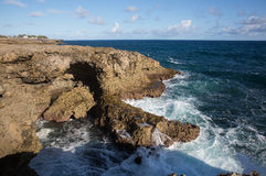 Dawn at Cape north point. Barbados Royalty Free Stock Images
