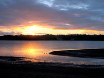 Dawn at Carsington, Derbyshire. Royalty Free Stock Image