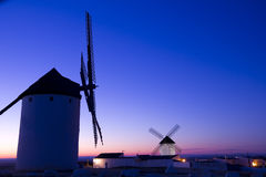Dawn in Castile, Spain. Sunrise in Castile Stock Photography