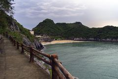 Dawn on Cat Ba Island. Stock Photos