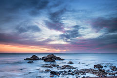 Dawn at Chemical Beach Royalty Free Stock Photography