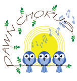 Dawn chorus Stock Photo