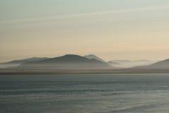 Dawn in Chukotka royalty-vrije stock foto