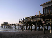 Dawn on the Cocoa Beach Pier Stock Photo