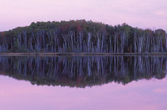 Dawn, Council Lake Royalty Free Stock Photos
