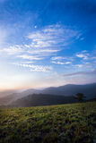 Dawn. The dawn of dalat city Royalty Free Stock Photography