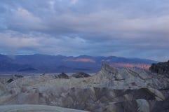 Dawn in the desert Stock Photo