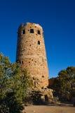 Dawn Desert Watchtower Royalty Free Stock Photos