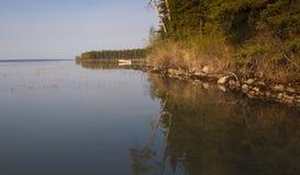 Dawn in Dore Lake Stock Foto's
