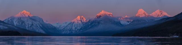 Dawn, Dusk, Lake Stock Image