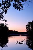 Dawn, Eagle Lake Stock Image