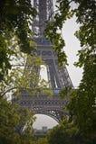 Dawn Eiffel Tower Imágenes de archivo libres de regalías