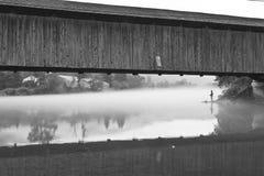 Dawn Fishing Royalty-vrije Stock Fotografie
