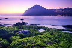 Dawn at fishing port