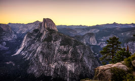 Dawn From Glacier Point Fotografia Stock Libera da Diritti