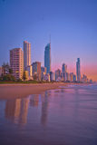 Dawn at Gold Coast - Portrait Royalty Free Stock Photos