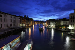 Dawn on the Grand Canal Stock Photos
