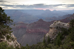 Dawn at Grand Canyon Royalty Free Stock Photography
