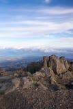 Dawn in Haleakala royalty-vrije stock foto
