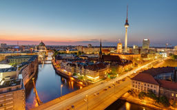 Dawn at the heart of Berlin Stock Photos