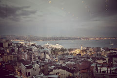 Dawn in Istanbul Stock Images