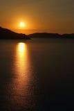 Dawn in Koktebel Stock Photo
