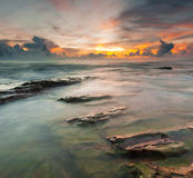 Dawn at kuala abang Royalty Free Stock Images